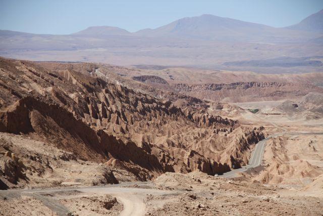 Empezamos a ver las huellas de paisaje volcánico
