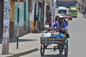 Transportando mercancias