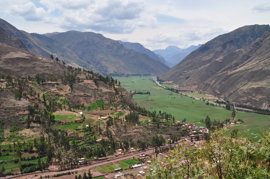 Vistas del Valle entrando por el Sur