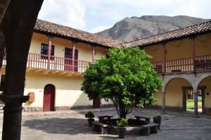 Patio principal de la Casona histórica