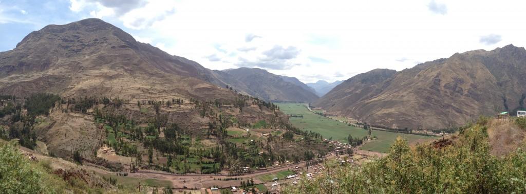 Vista panoramica del valle