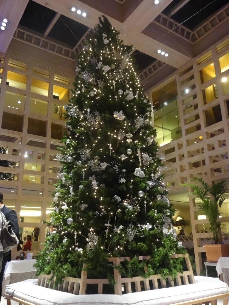árbol de Navidad Hesperia Madrid