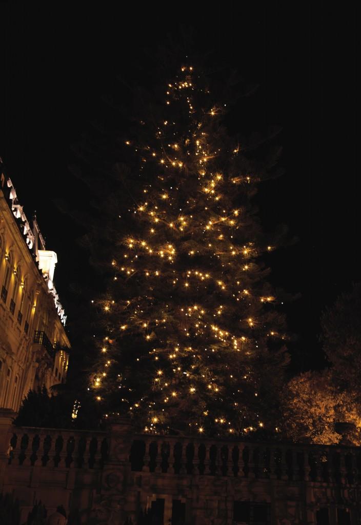 Árbol de Navidad de Pestana palace