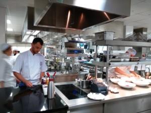 ¡Nos meten hasta la cocina del Hotel, literalmente!