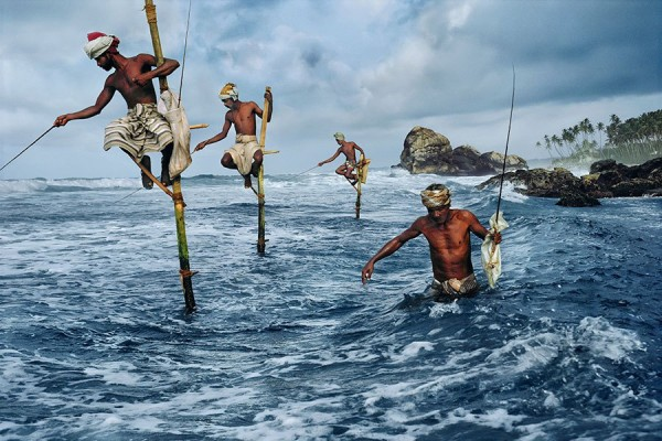 McCurry fishermen Weligama