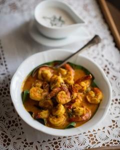 food - prawn curry