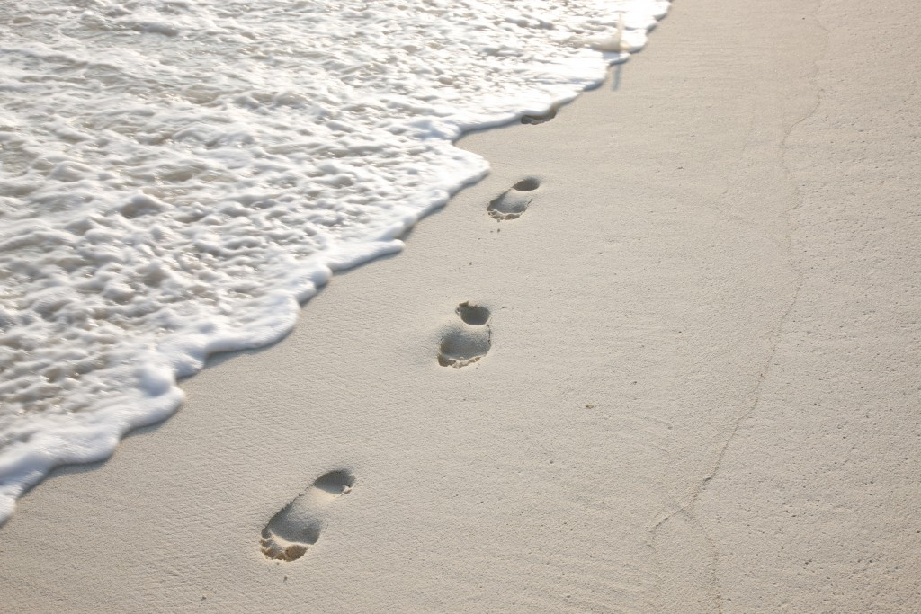 008-sb-footprints_on_sand_by_cat_vinton